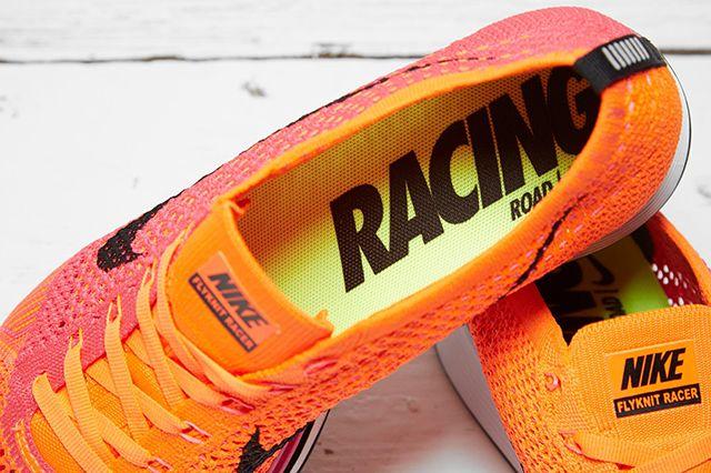 Nike Flyknit Racer Pink Flash 1