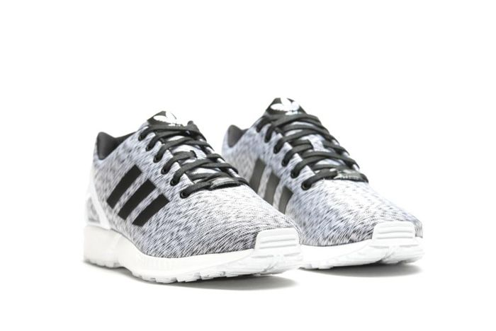 Adidas Zx Flux White Static Print 3