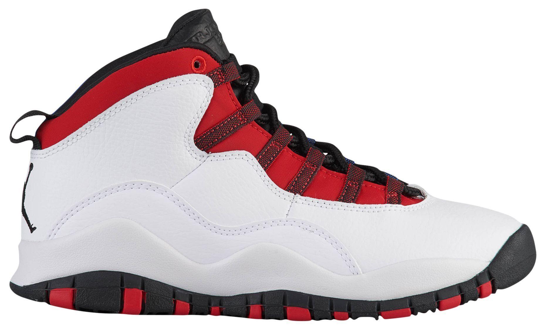 Jordan 10 Red Blue