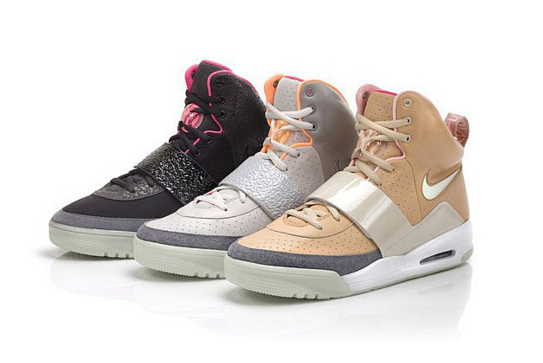 Material Matters History Of Yeezy Nike 1 All
