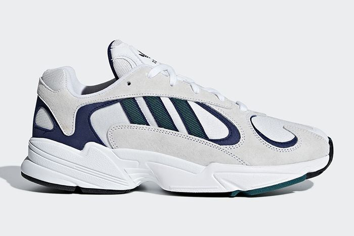 Adidas Yung 1 White Green Purple 1