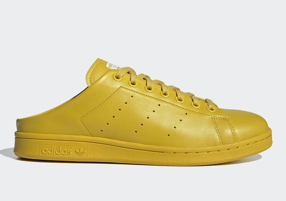 adidas Stan Smith Mule Tribe Yellow Right