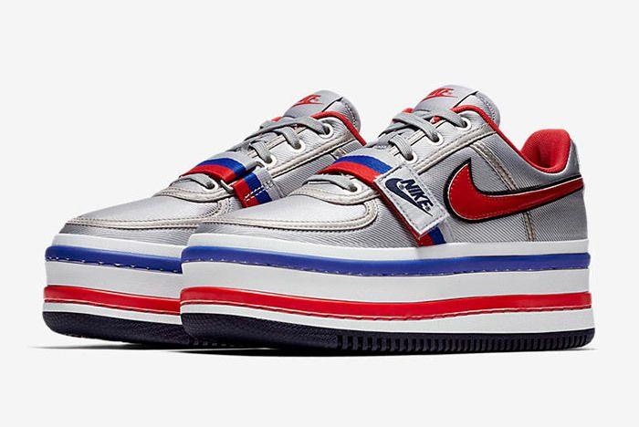 Nike Vandal 2 K Silver Black 9