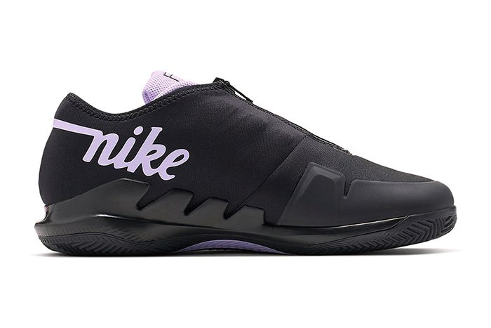Nike Air Zoom Vapor X Glove Black Purple Bq9663 001 Release Date Medial
