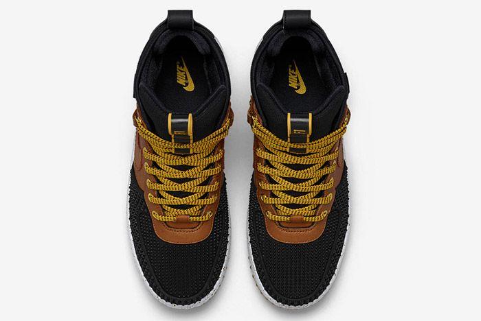 Nike Lunar Force 1 Duckboot Black Brown 3