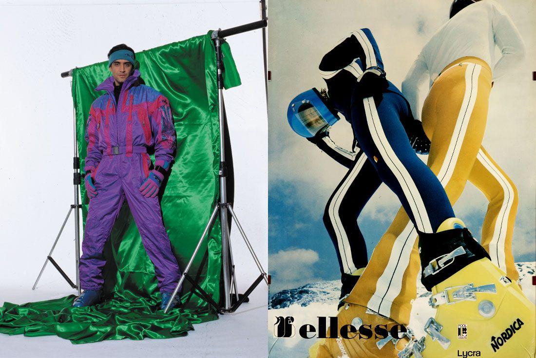 ellesse Vintage Ski Wear