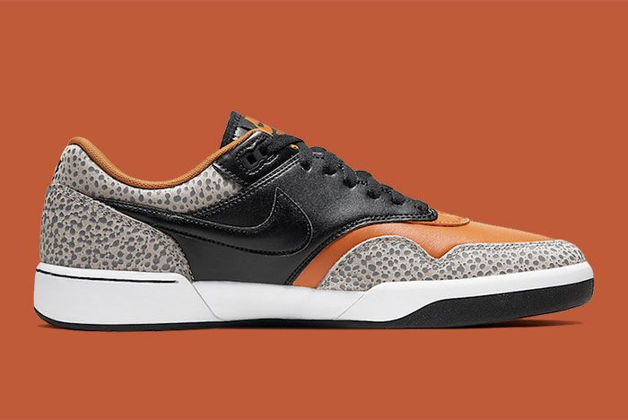 Nike Sb Gts Return Premium Safari Cv6283 001 Medial