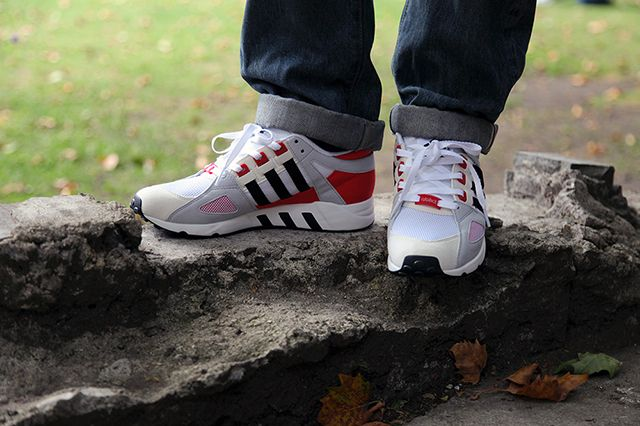 Adidas Eqt Running Guidance 93 Og Red1