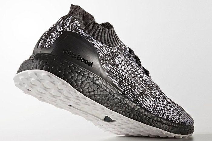 Adidas Ultraboost Uncaged Black White 5