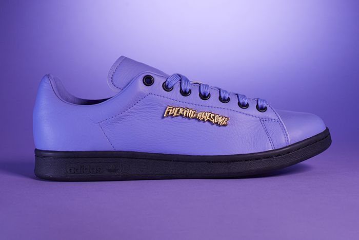 Fucking Awesome Adidas Skateboarding Stan Smith Purple Release Date Lateral