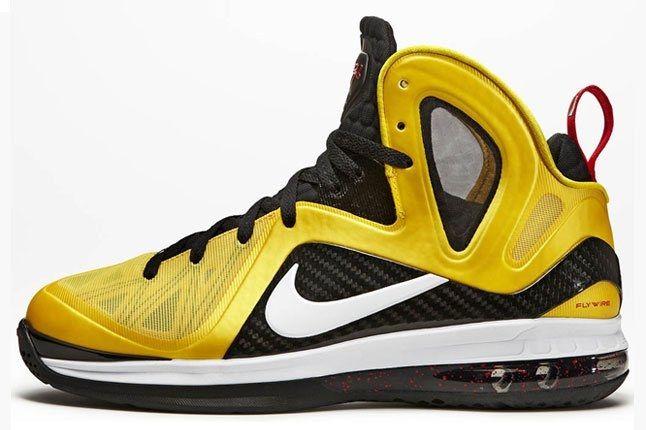 Nike Lebron 9 Ps Elite Varsity Maize Black White Official 01 1