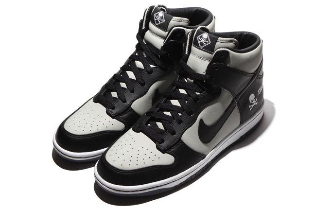 Mastermind Japan Nike Dunk Hi Grey Pair 1