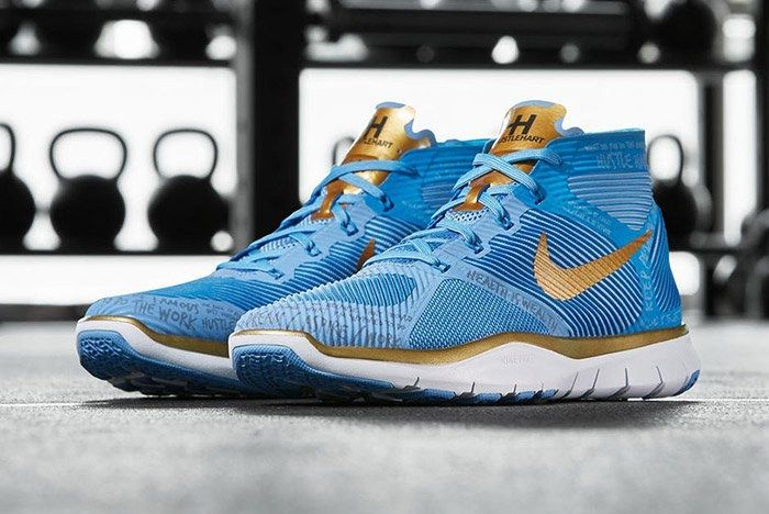 Nike Free Train Instinct Hart Blue 1