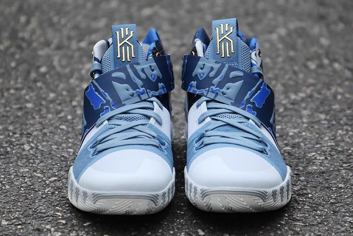 Nike What The Kyrie Hybrid Blue Release 4 Sneaker Freaker