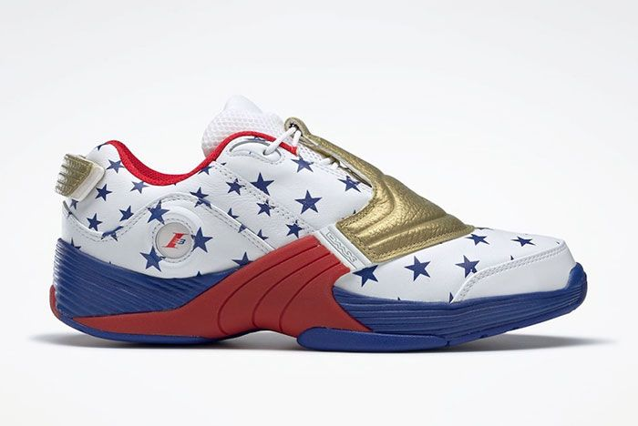 Reebok Answer V 5 Low Usa Olympics Fw7486 Lateral