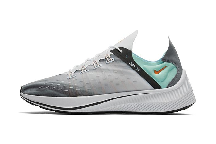 Nike Exp X14 Qs White Emerald Rise Cone Blue Chill 2