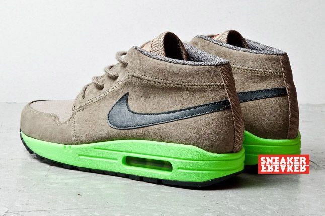 Nike Wardour Max Olive Lime 3 2