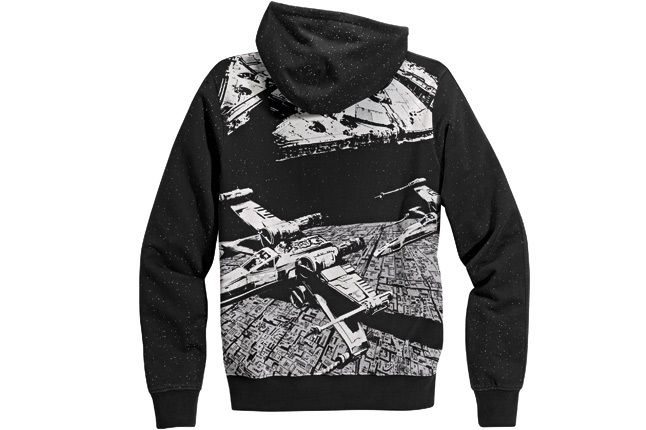 Adidas Star Wars Hoody Rear 1