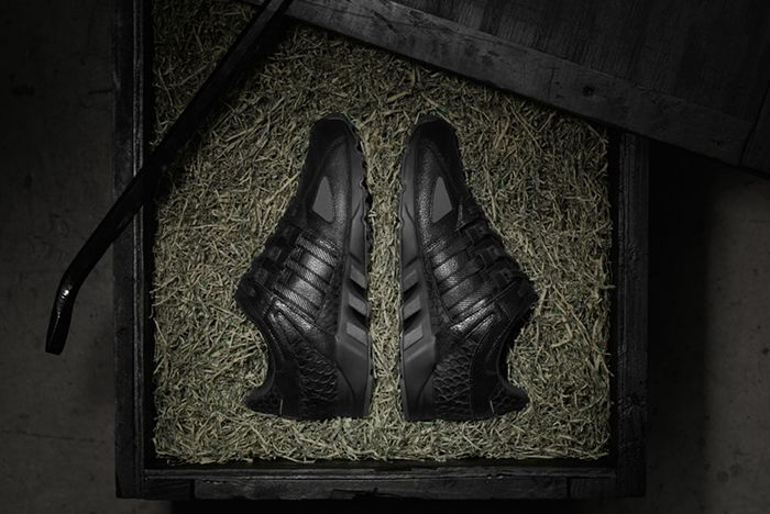 Pusha T X Adidas Eqt Guidance 93 Black Market 3