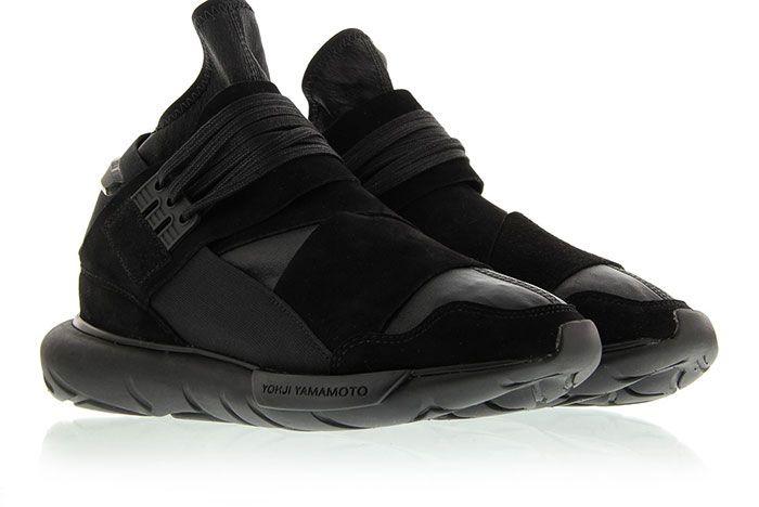 Adidas Y 3 Qasa High Triple Black 5
