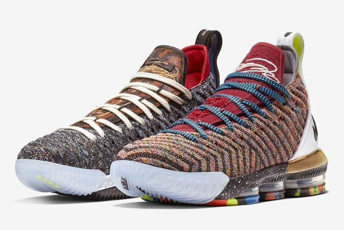 Nike Lebron 16 What The Release