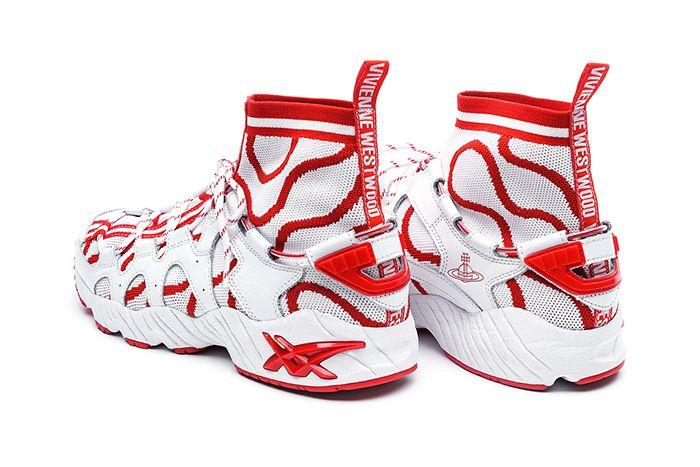 Vivienne Westwood Asics Gel Mai Knit Mt White Red Release Date Heel