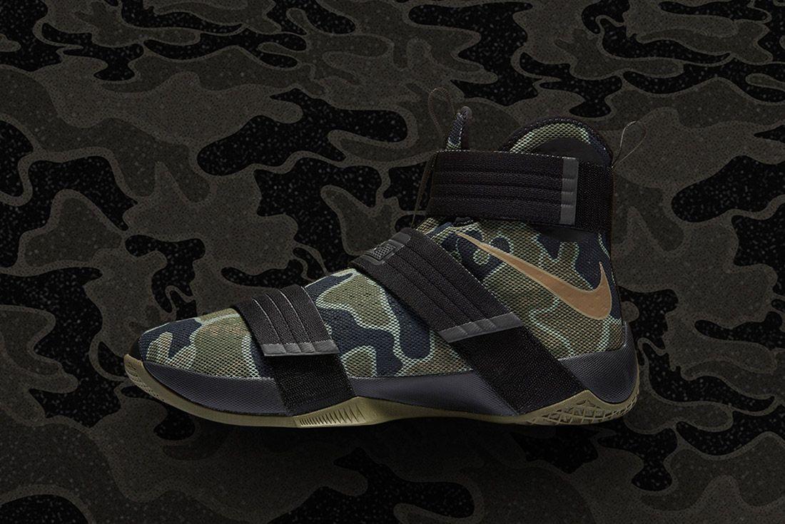 Nike Lebron Soldier 10 Camo 1