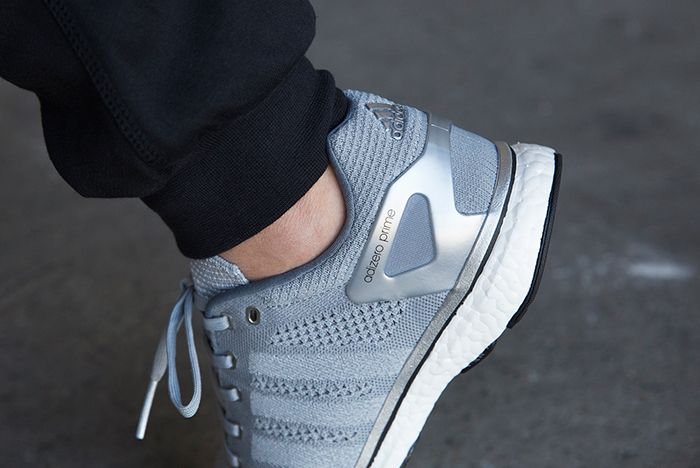 Adidas Adizero Prime Mid Grey