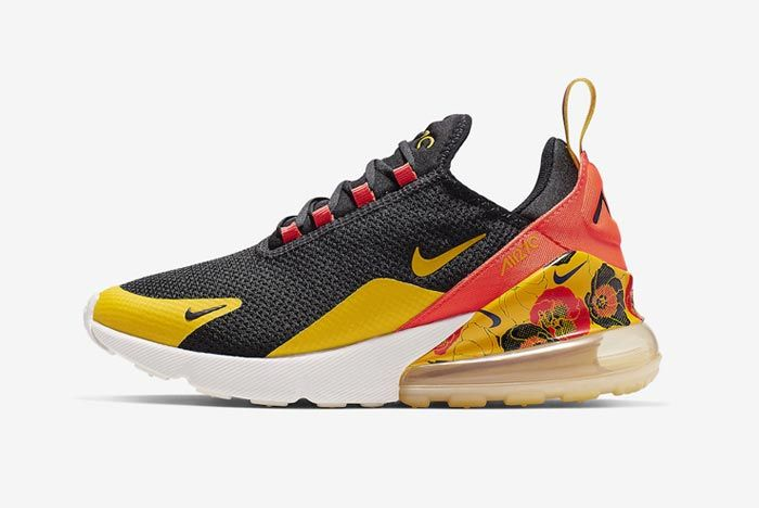 Nike Air Max 270 Womens Flower Lateral