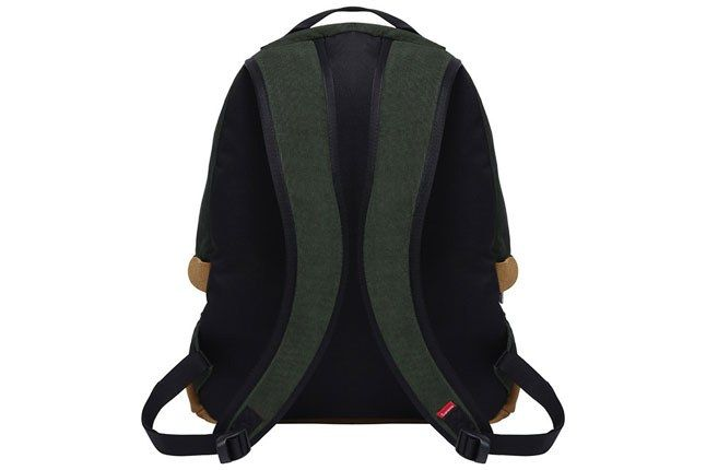 Supreme North Face Backpack Green Straps 1