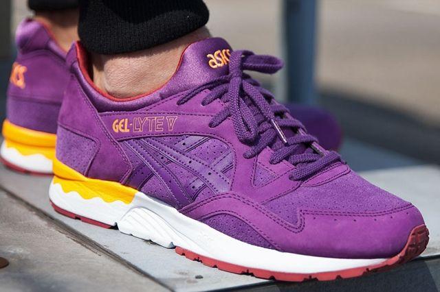 Asics Gel Lyte V Sunset Purple 2