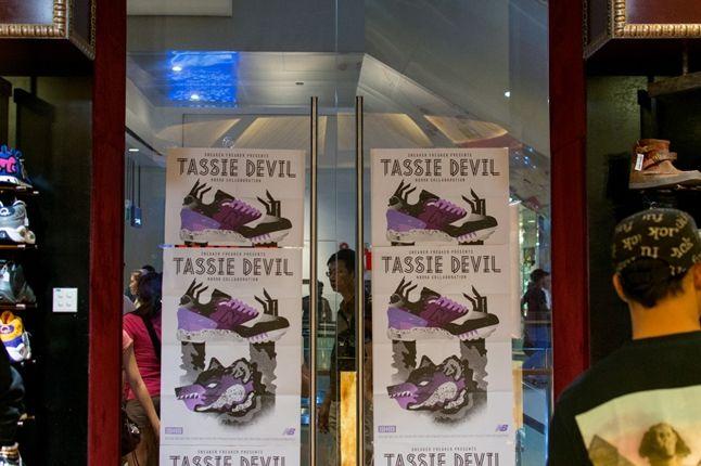 Sneaker Freaker X New Balance 998 Tassie Devil Limited Edt Launch Doors 1