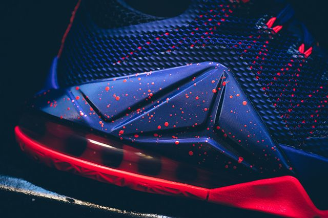 Nike Lebron 12 Low Raptors5