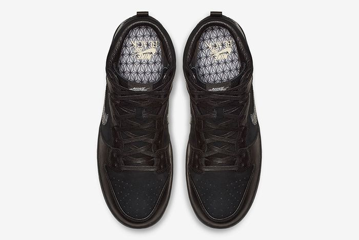 Black Bar Nike Sb Dunk High 3