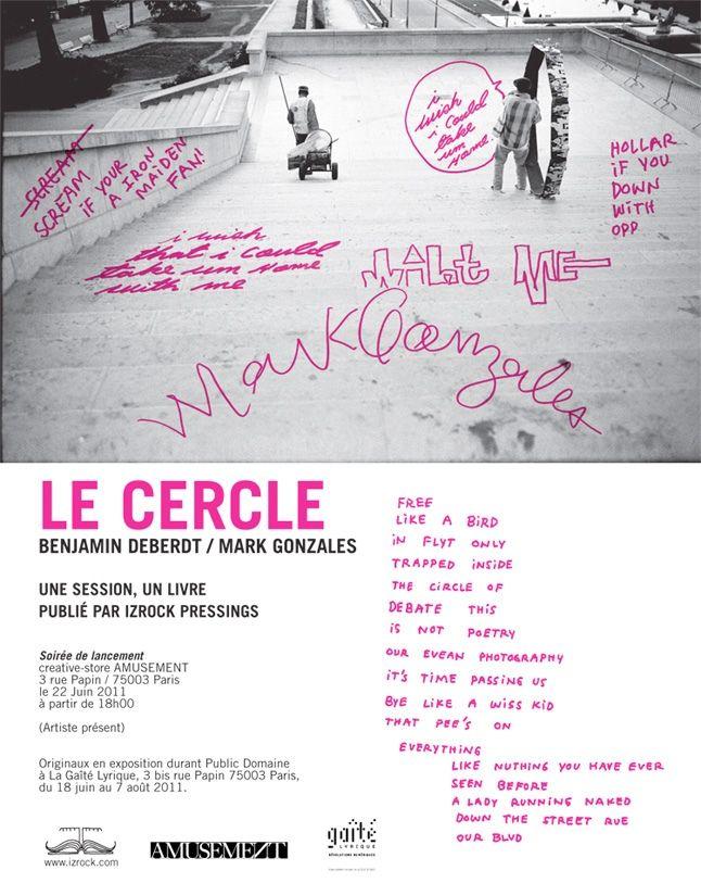 Mark Gonzales Le Cercle Paris Book Launch 2