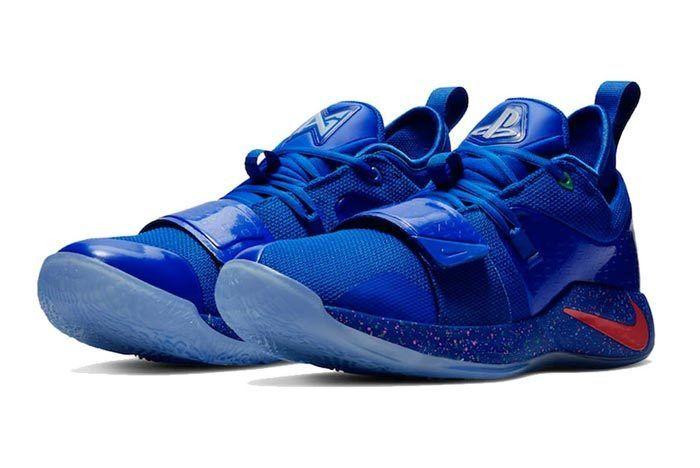 Nike Pg 2 5 Playstation Blue 1