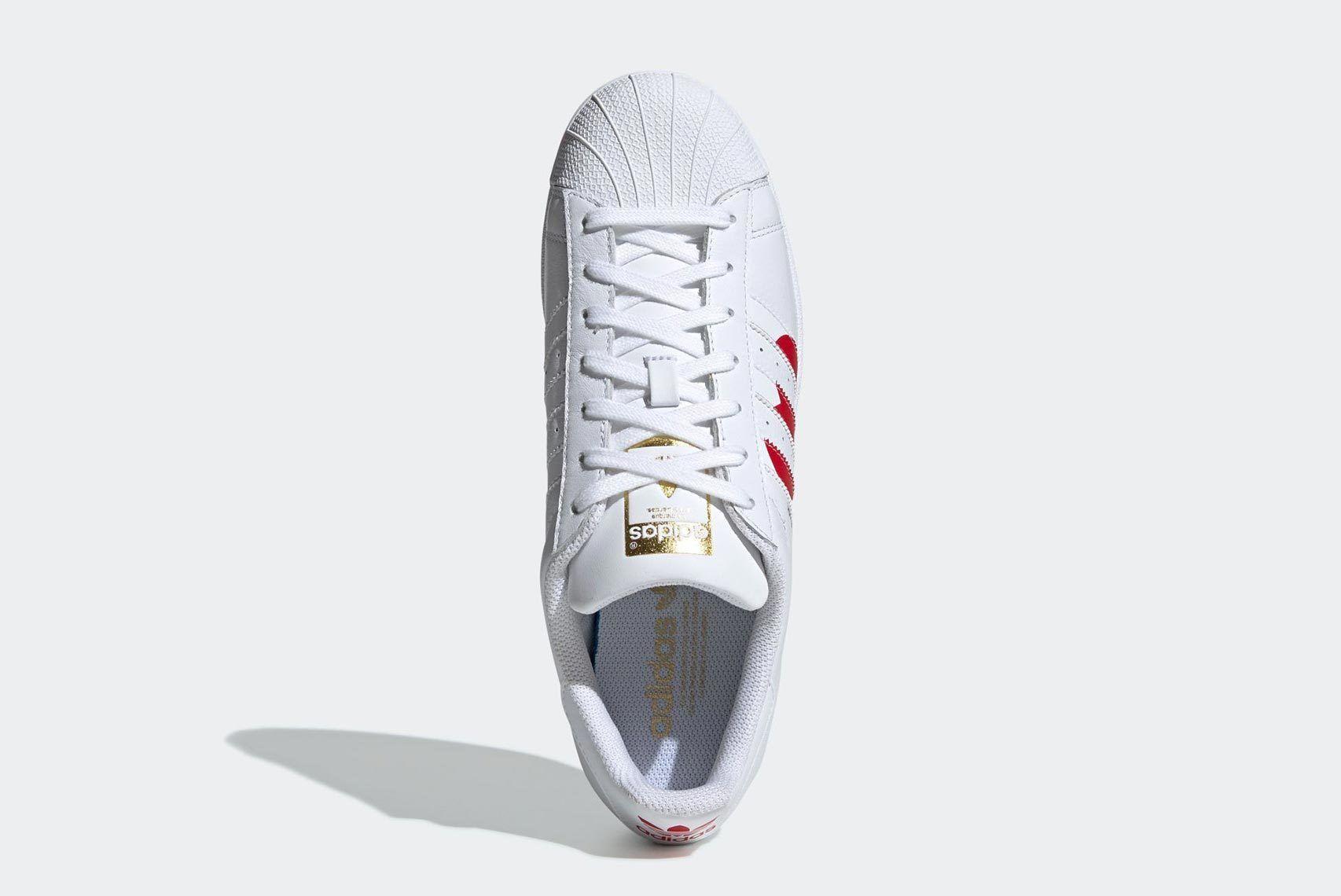Valentines Day Adidas Superstar 1