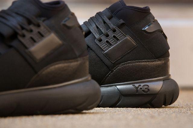 Adidas Y 3 Qasa High All Black 4
