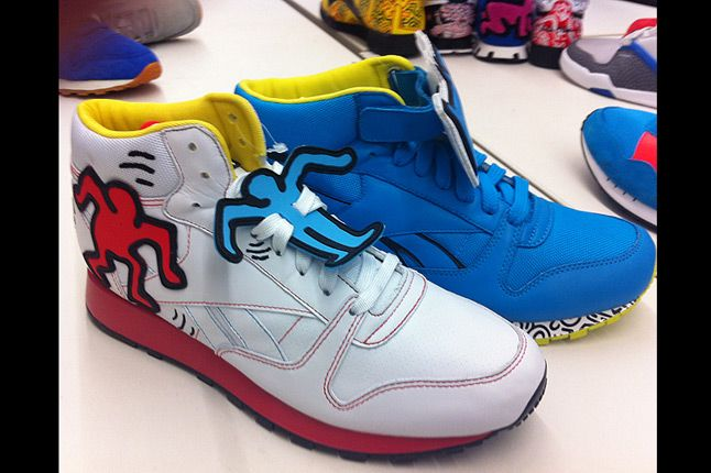 Keith Haring Reebok Cl Leather Mid Lux 12 Pack 1