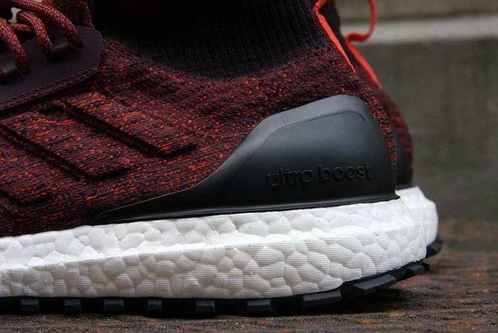 Adidas Ultraboost Mid Atr Burgundy 3