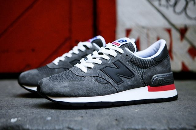 New Balance 990 Made In Usa Charcoal Grey 12