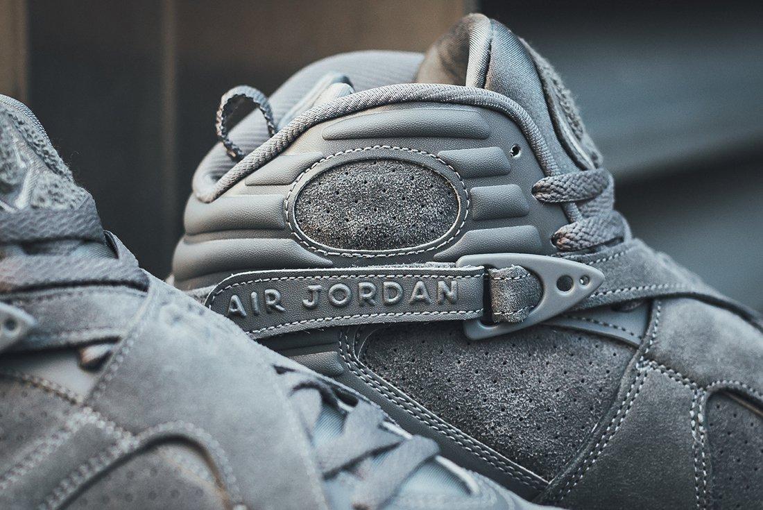 Air Jordan 8 Cool Grey 5 1