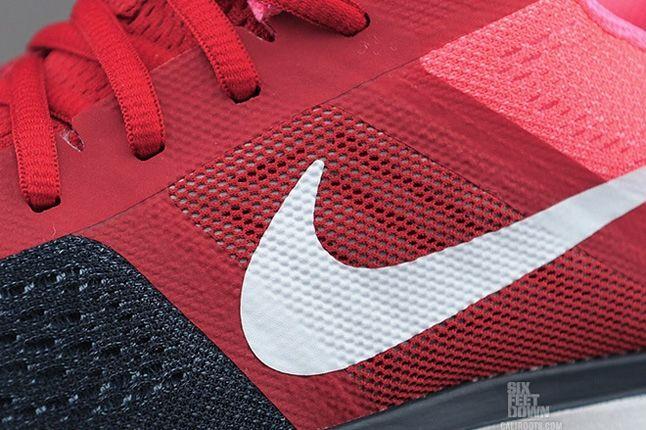 Nike Air Pegasus30 Navy Red Midfoot Detail 1
