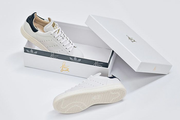 Adidas Stan Smith Leather Reconstructed White Black 11