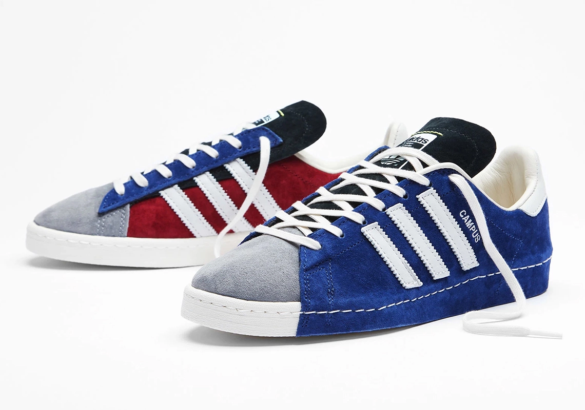RECOUTURE x adidas Campus 80s FY6753