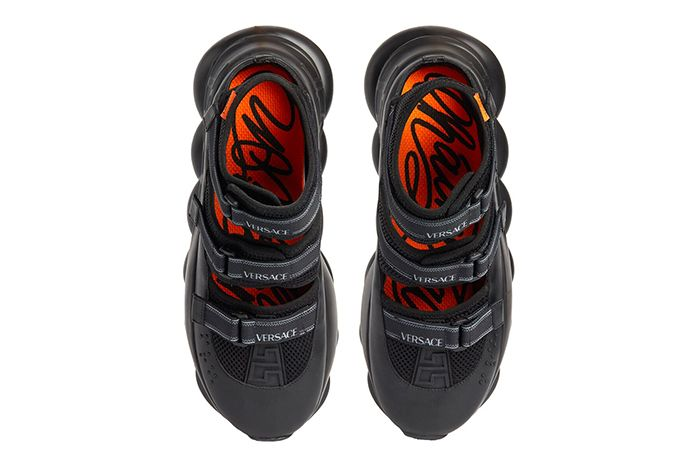 Versace Chain Reaction Sandals Top