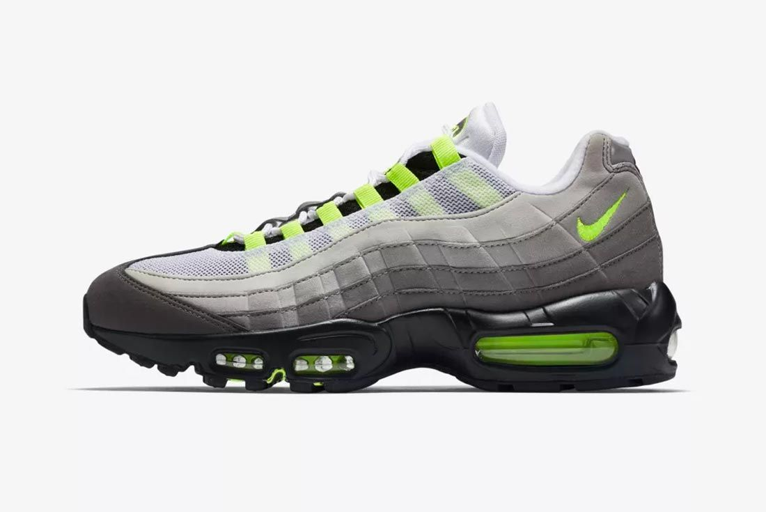 Nike Air Max 95 Neon Colourway Lateral