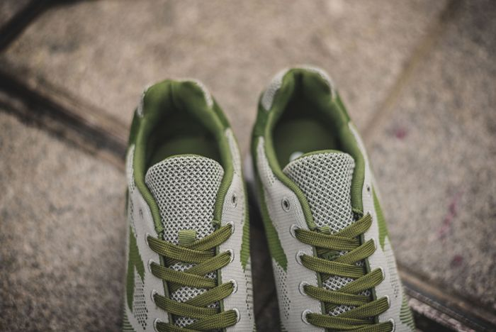Diadora V7000 Weave Green5
