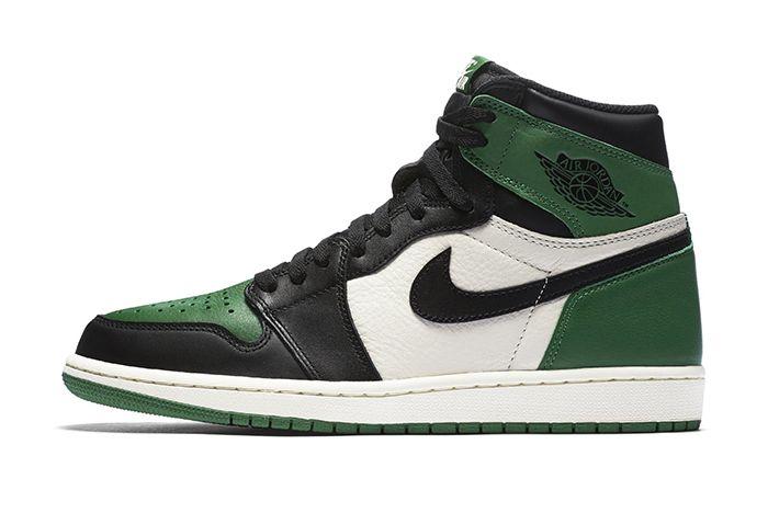 Air Jordan 1 Retro High Og Pine Green Court Purple 2