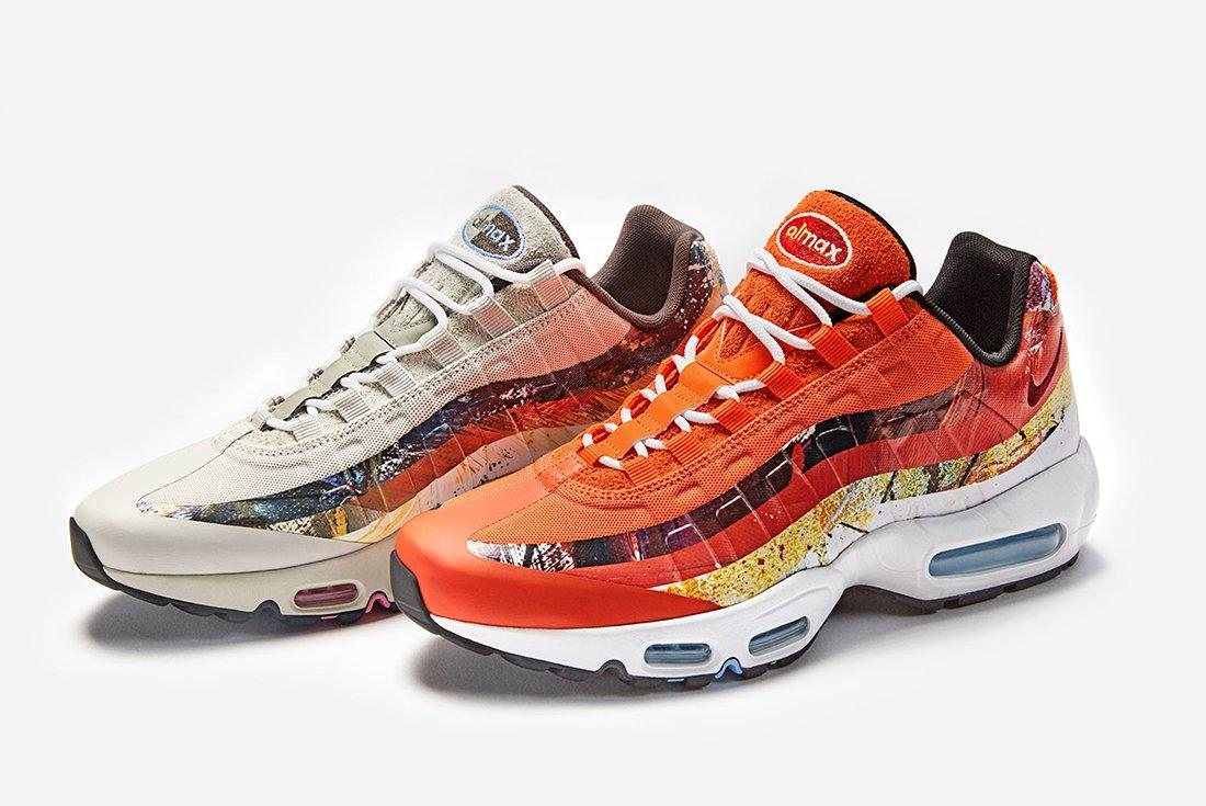 Size X Dave White X Nike Air Max 95 Collection
